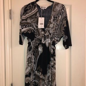 5th love stretch dress - mid length